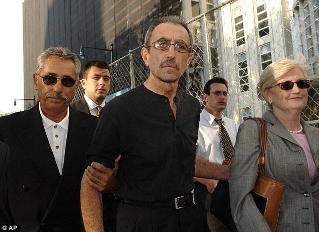 Caracappa 2005-ben a bíróságon (Daily Mail)