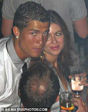 Ronaldo és Kathryn Mayorga Las Vegasban