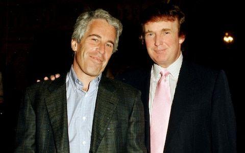 Epstein és Trump